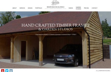 Bespoke Building Website