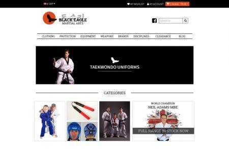 Black Eagle Martial Arts Website