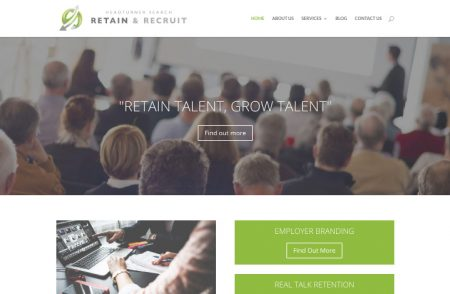 Retain & Recruit Website