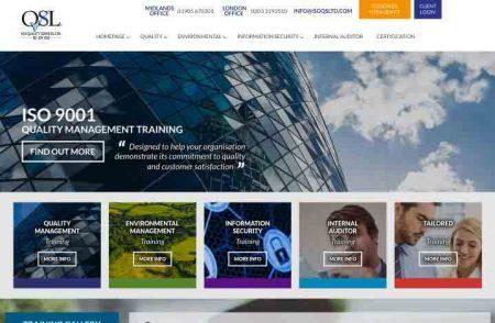 ISO Training Website