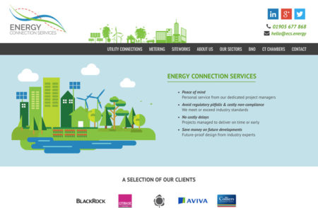Energy Connection Services Website