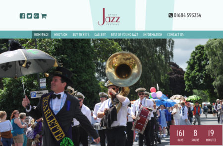 Upton Jazz Festival Website