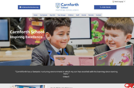 Carnforth School Website