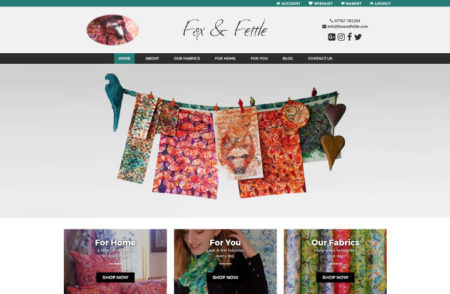 Fox & Fettle Website