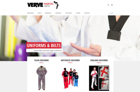 Verve Martial Arts Website