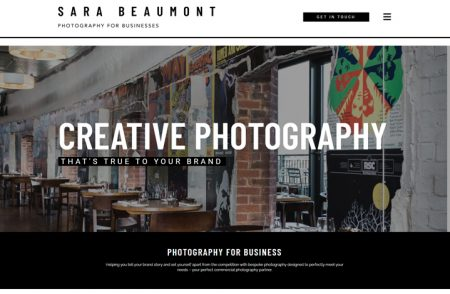 Sara Beaumont Photography Website